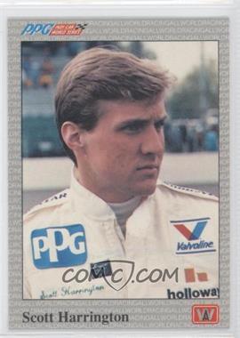 1991 All World PPG Indy Car World Series - [Base] #58 - Scott Harrington