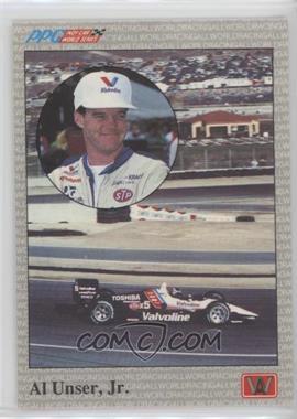 1991 All World PPG Indy Car World Series - Samples #S1 - Al Unser Jr.