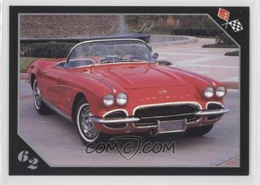 1991 Collect-A-Card Vette Set - [Base] #10 - 1962 Corvette Convertible