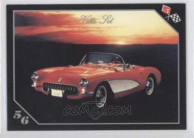 1991 Collect-A-Card Vette Set - [Base] #4 - 1956 Corvette Convertible