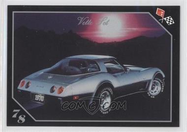 1991 Collect-A-Card Vette Set - [Base] #47 - 1978 Corvette Sport Coupe