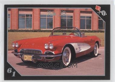 1991 Collect-A-Card Vette Set - [Base] #9 - 1961 Corvette Convertible
