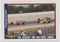 The Closest One-Two-Three Finish