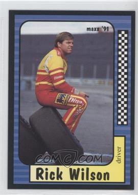 1991 Maxx Collection - [Base] #8 - Rick Wilson