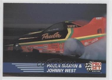 1991 Pro Set NHRA - [Base] #80 - Paula Martin