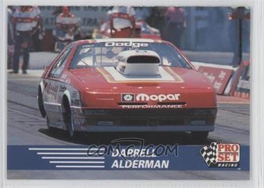 1991 Pro Set NHRA - [Base] #82 - Darrell Alderman