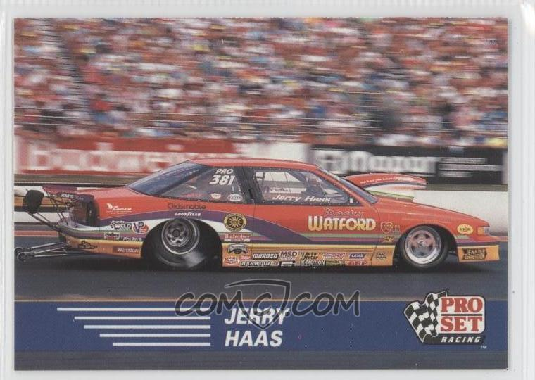 Pro Set Nhra Base Jerry Haas Comc Card Marketplace