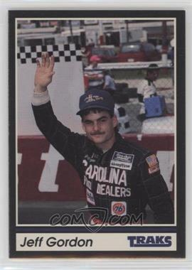 1991 Traks - [Base] #1 - Jeff Gordon