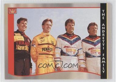 1992 C.D.A. PPG Indy Car World Series - [Base] #49 - Mario Andretti, Michael Andretti, John Andretti, Jeff Andretti