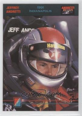 1992 Collect-A-Card Andretti Racing - [Base] #66 - Jeffrey Andretti