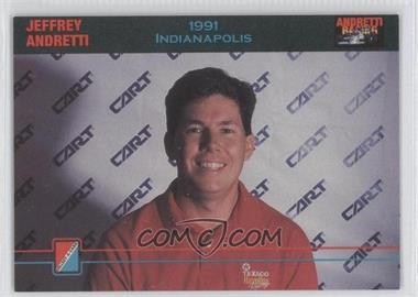 1992 Collect-A-Card Andretti Racing - [Base] #84 - Jeffrey Andretti