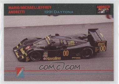 1992 Collect-A-Card Andretti Racing - [Base] #91 - 24 Hours of Daytona