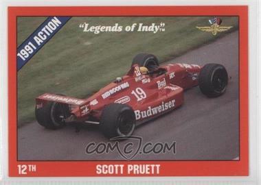 1992 Collegiate Collection Legends of Indy - [Base] #13 - Scott Pruett