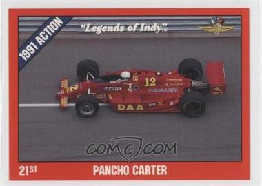1992 Collegiate Collection Legends of Indy - [Base] #22 - Pancho Carter