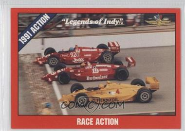 1992 Collegiate Collection Legends of Indy - [Base] #40 - Race Action