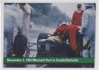 November 3, 1991/Mansell Hurt in Crash/Adelaide
