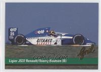 Ligier JS37 Renault/Thierry Boutsen (B)