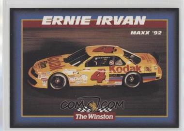 1992 Maxx The Winston - [Base] #28 - Ernie Irvan