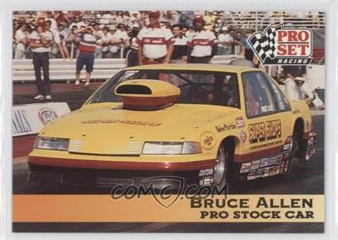 1992 Pro Set NHRA - [Base] #144 - Bruce Allen