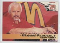 Crew Chief - Bernie Fedderly