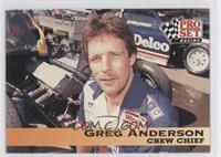 Crew Chief - Greg Anderson