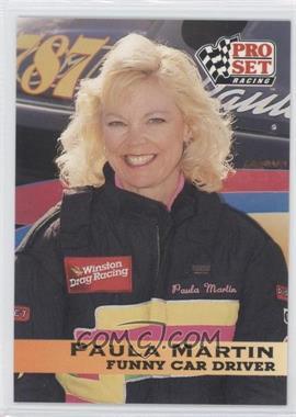 1992 Pro Set NHRA - [Base] #45 - Paula Martin