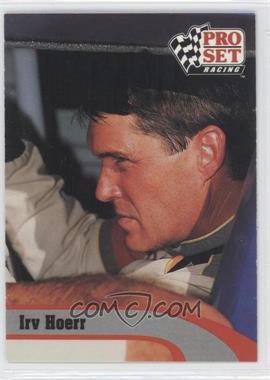1992 Pro Set Winston Cup - [Base] #234 - Irv Hoerr