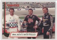 Mike Wallace, Kenny Wallace, Rusty Wallace