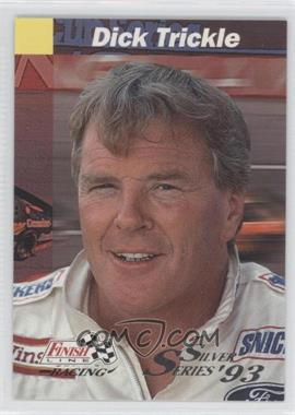 1993 Pro Set Finish Line - [Base] - Silver Series #70 - Dick Trickle
