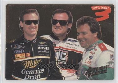 1994 Action Packed - [Base] #204 - Rusty Wallace, Kenny Wallace, Mike Wallace