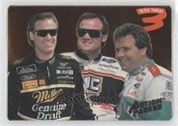 Rusty Wallace, Kenny Wallace, Mike Wallace
