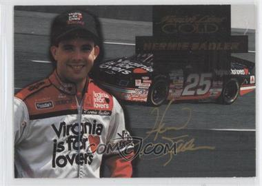 1994 Finish Line Gold - [Base] - Autographs [Autographed] #7 - Hermie Sadler