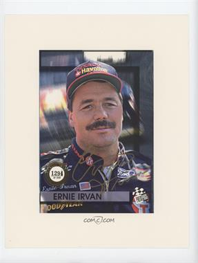 1994 Press Pass Authentics - [Base] - Autographs [Autographed] #ERIR - Ernie Irvan /2500