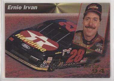 1994 Pro Set Power Racing - [Base] - Gold Cup #95 - Ernie Irvan [EXtoNM]