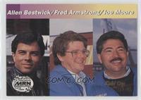 Allen Bestwick, Fred Armstrong, Joe Moore