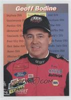 Stat Leaders - Geoff Bodine