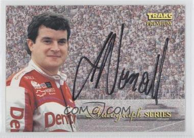 1994 Traks Premium - Autograph Series #A-9 - Joe Nemechek /3500