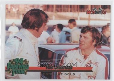 1994 Wheels Harry Gant - [Base] - 33 Karat Gold #12 - Dick Trickle