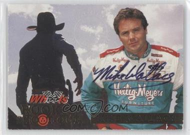 1994 Wheels High Gear - Rookie Shoot-Out - [Autographed] #RS5 - Mike Wallace /1000