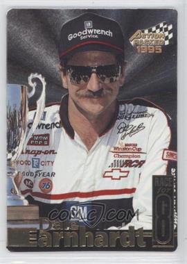 1995 Action Packed Stars - Earnhardt Race for 8 #DE-7 - Dale Earnhardt