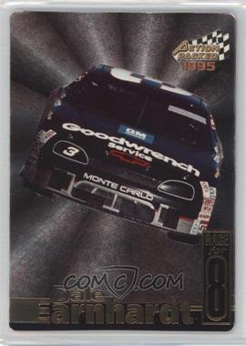 1995 Action Packed Stars - Earnhardt Race for 8 #DE-8 - Dale Earnhardt