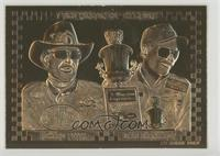 Richard Petty, Dale Earnhardt /10000