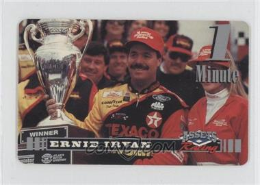 1995 Classic Assets Racing - 1 Minute Phone Cards #ERIR - Ernie Irvan