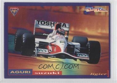 1995 Futera Formula 1 - Promos #P4 - Aguri Suzuki