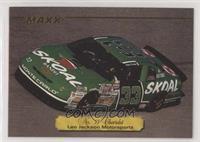 Robert Pressley's No. 33 Chevrolet