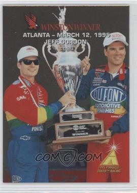 1995 Pinnacle Zenith - Winston Winners #4 - Jeff Gordon