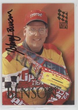 1995 Press Pass VIP - Autographs #37 - Johnny Benson