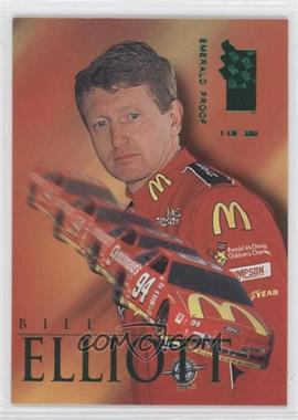 1995 Press Pass VIP - [Base] - Emerald Proof #10 - Bill Elliott /380
