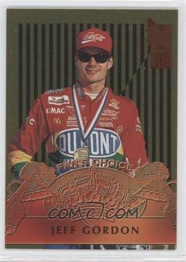 1995 Press Pass VIP - Fan's Choice - Gold #FC3 - Jeff Gordon