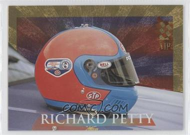 1995 Press Pass VIP - Helmets - Gold #H9 - Richard Petty